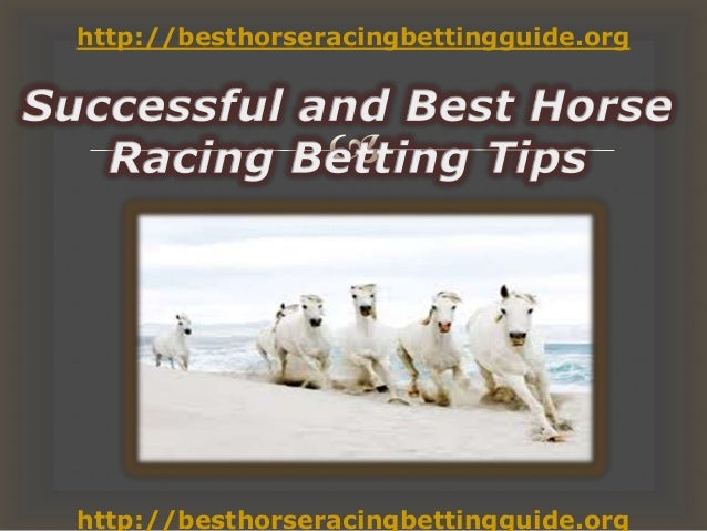 Successful and best horse racing betting tips