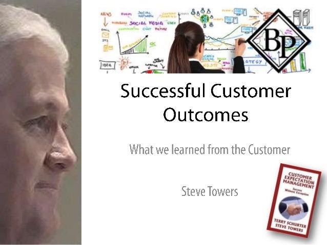 Successful Customer Outcomes 2013