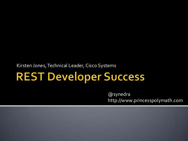 Successful developers