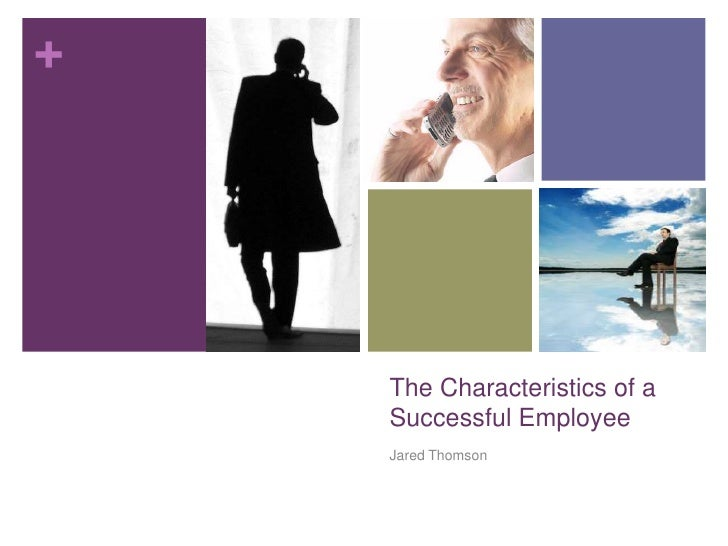Characteristics of Successful Employee Lesson Plan