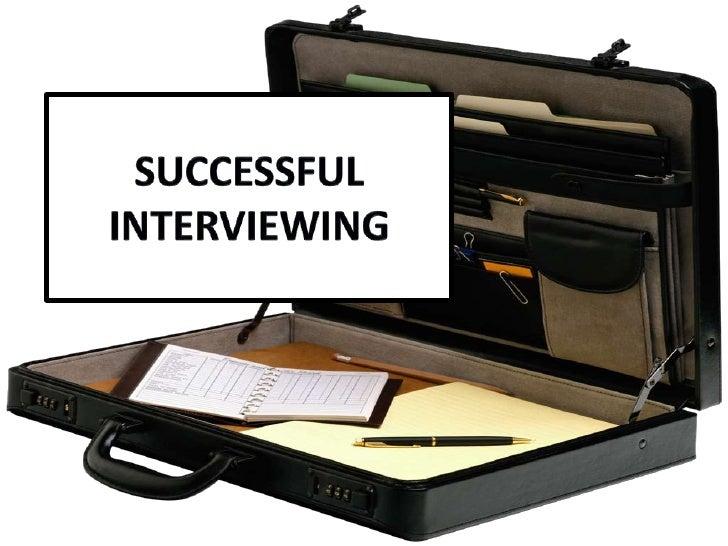 SuccessfulInterviewing<br />