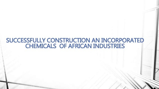 nigerian construction industry performance Nigerian construction industry: a survey of  fewings (2013), good h&s performance in the construction industries of developed countries.