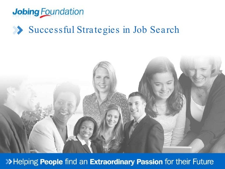 Successful Strategies in Job Search
