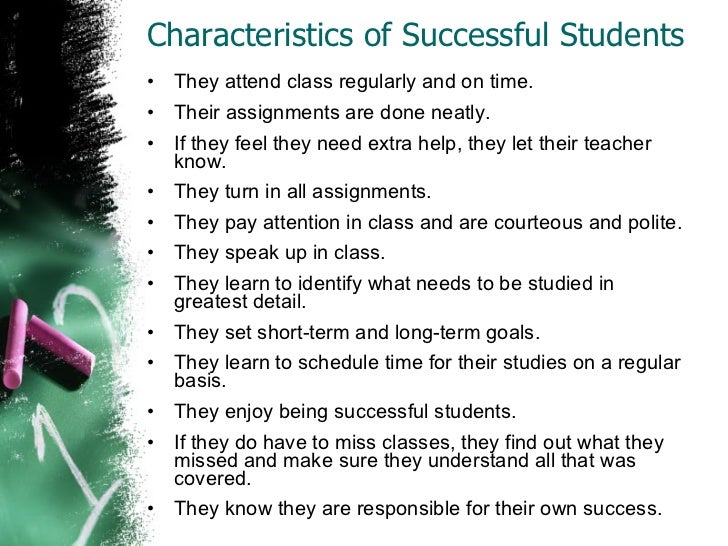 Essay qualities of a good student