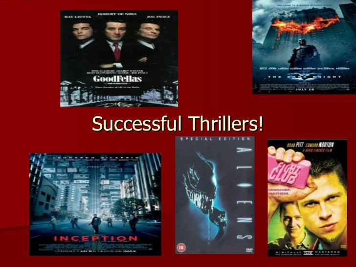 Successful Thrillers!