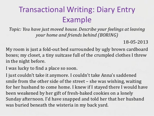 Write About Your Home