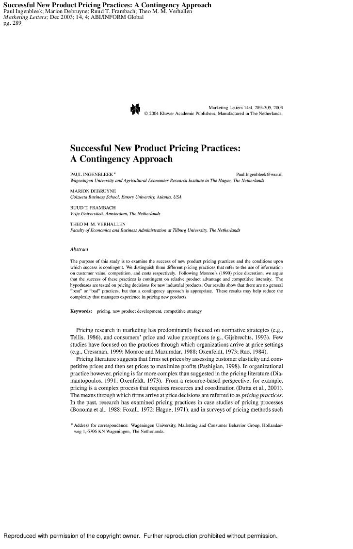 Success new prod_pricing-contingency_approach[1]