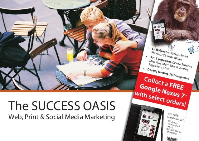 Local Marketing with the Success Oasis Formulas