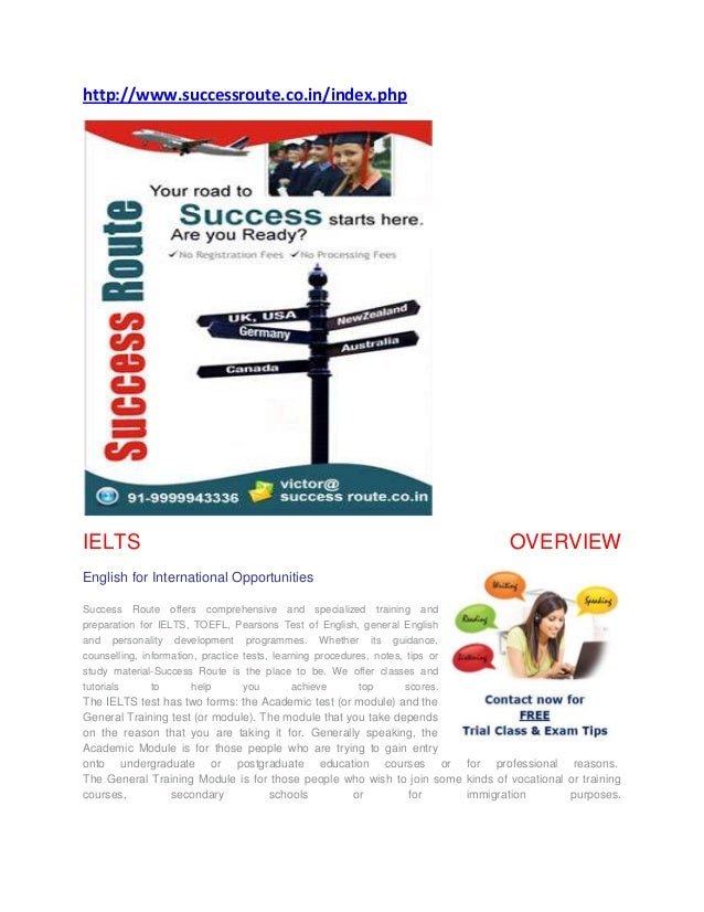 http://www.successroute.co.in/index.phpIELTS                                                                              ...