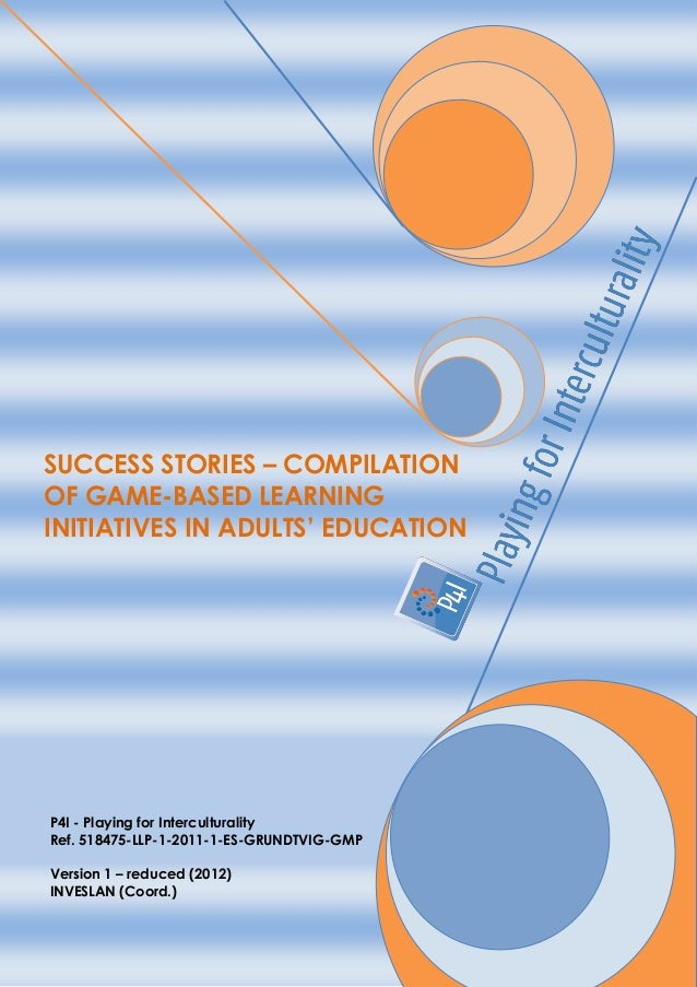 Success stories compilation of game-based learning initiatives in adults education
