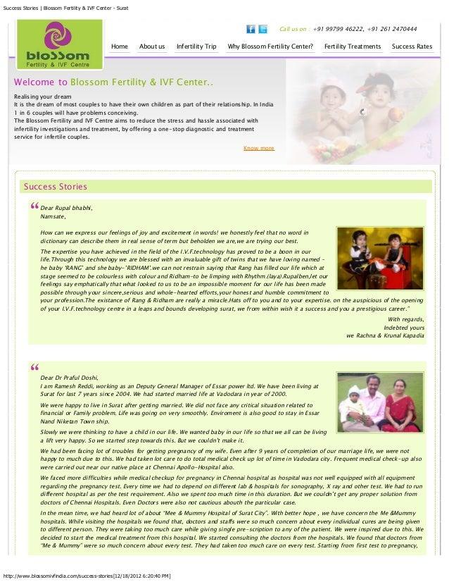 IVF & Fertility Success Stories India