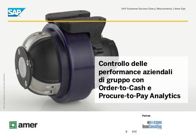SAP Customer Success Story | Meccatronica | Amer Spa                                                    Controllo delle   ...