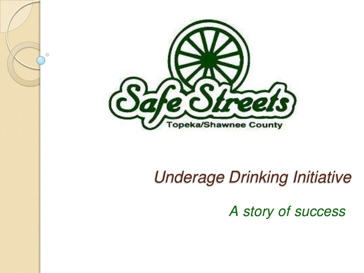 Underage drinking accomplishments in Shawnee County [A story that talks about how applying multiple sectors and multiple strategies based on evidence based initiatives could change the trends on alcohol consumption in a community.]