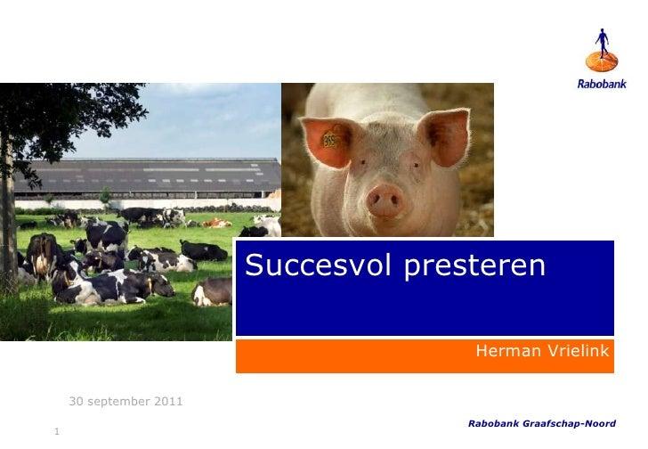 Succesvol Presteren met Herman Vrielink en Toon Gerbrands