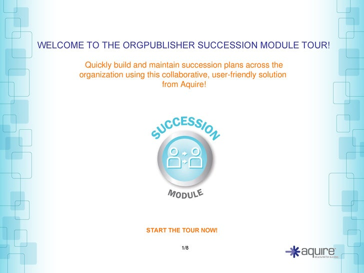 Quickly build and maintain succession plans across the organization using this collaborative, user-friendly solution   fro...