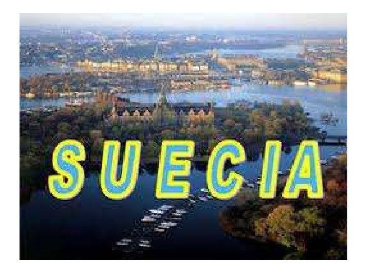 Se liga na Suécia   Ela se localiza no Norte da Europa         Sua capital é Estocolmo      Extensão territorial 450.300 k...