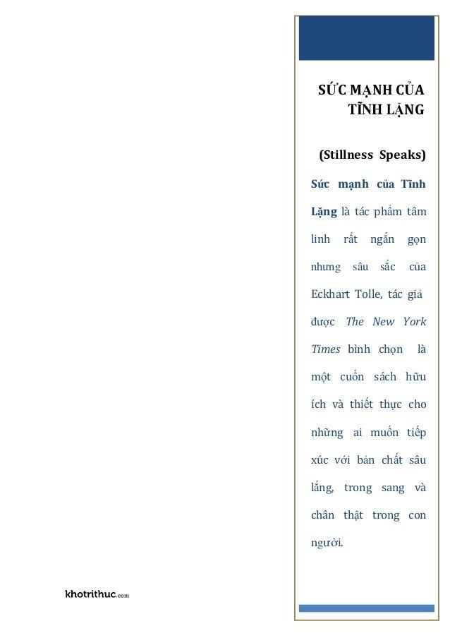 Suc manh cua su tinh lang stillness speaks-eckhart tolle-pdf-ebook-online