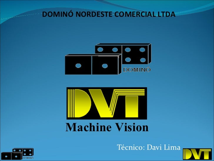 Técnico: Davi Lima DOMINÓ NORDESTE COMERCIAL LTDA Machine Vision
