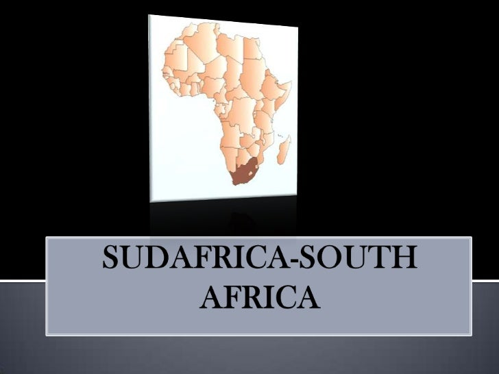 SUDAFRICA-SOUTH AFRICA<br />