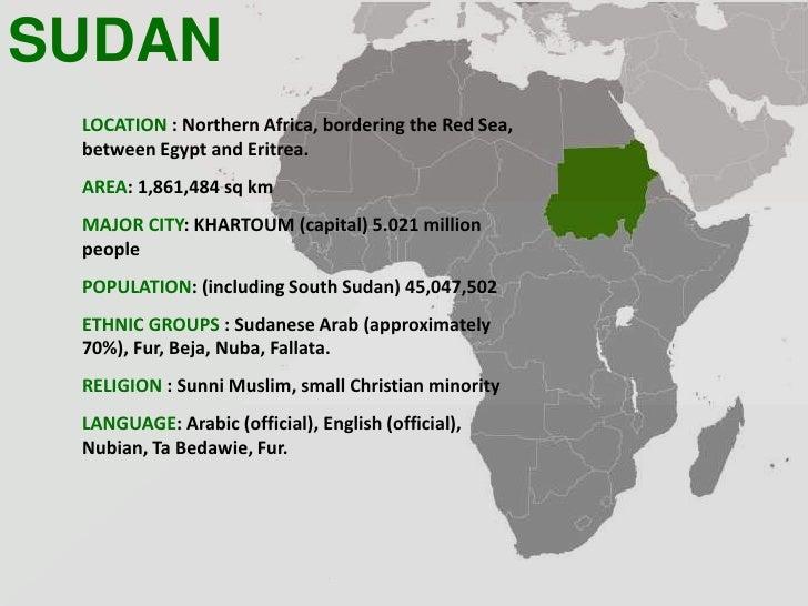 Sudan powerpoint
