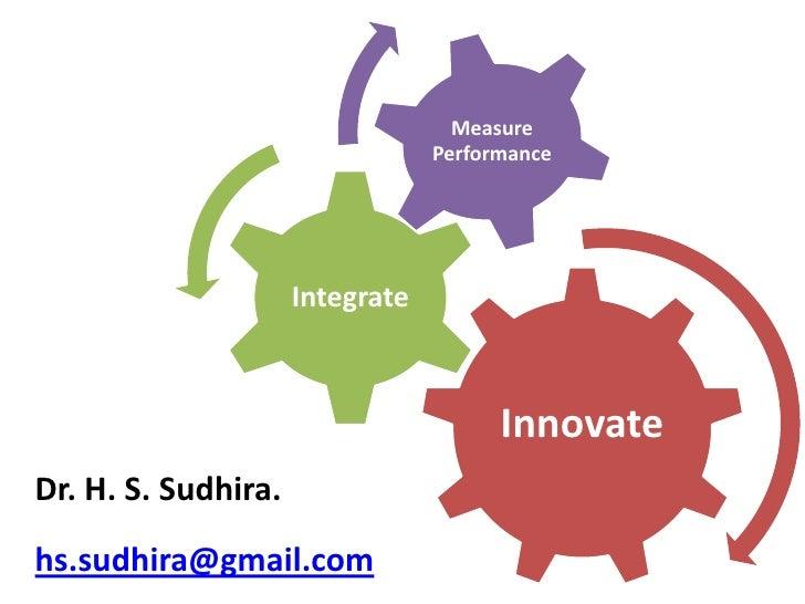 Measure                                  Performance                          Integrate                                   ...