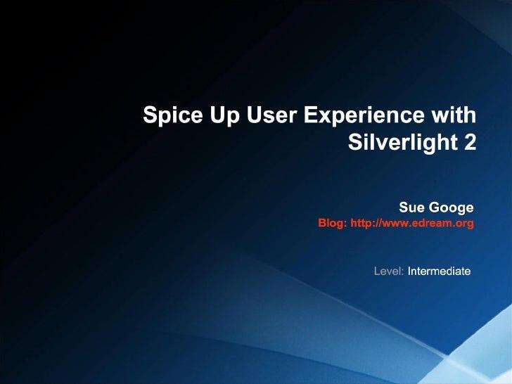 Sue Googe Spice Up Ux