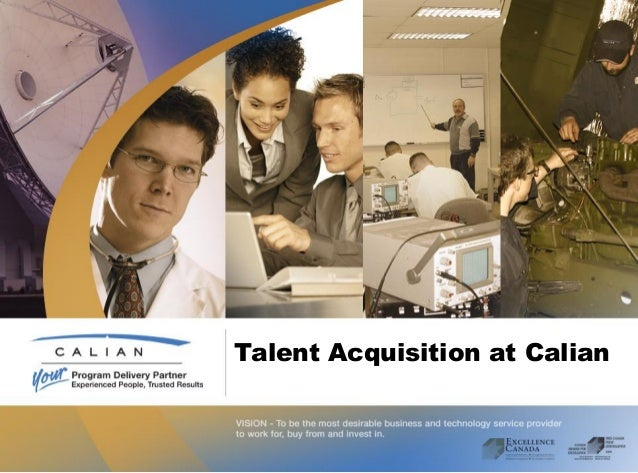 Talent Acquisition at Calian