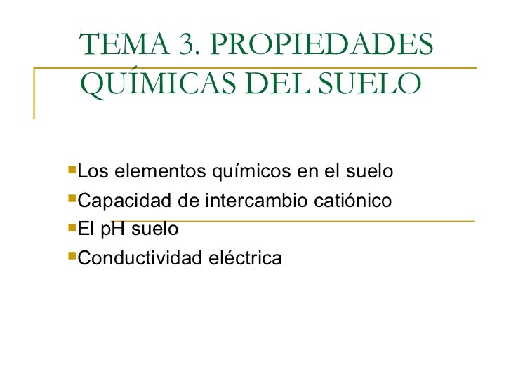 propiedades quimicas