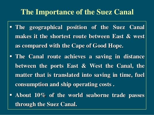 Suez canal  I 95 Sc Traffic