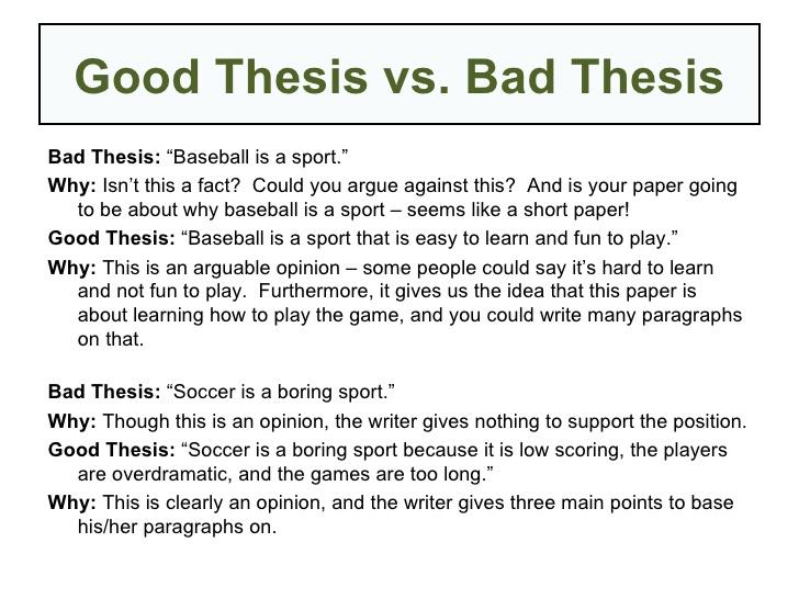 sports good or bad essay