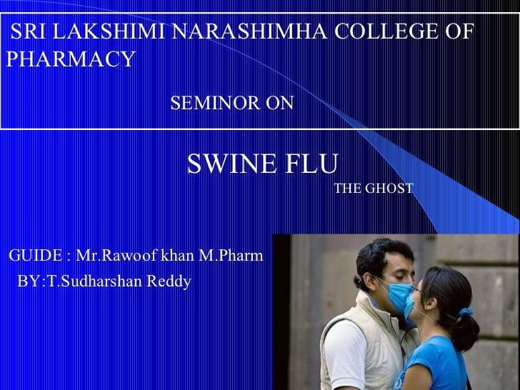 Swine flu PPT