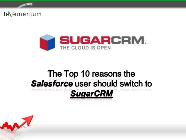SugarCRM vs Salesforce 2010