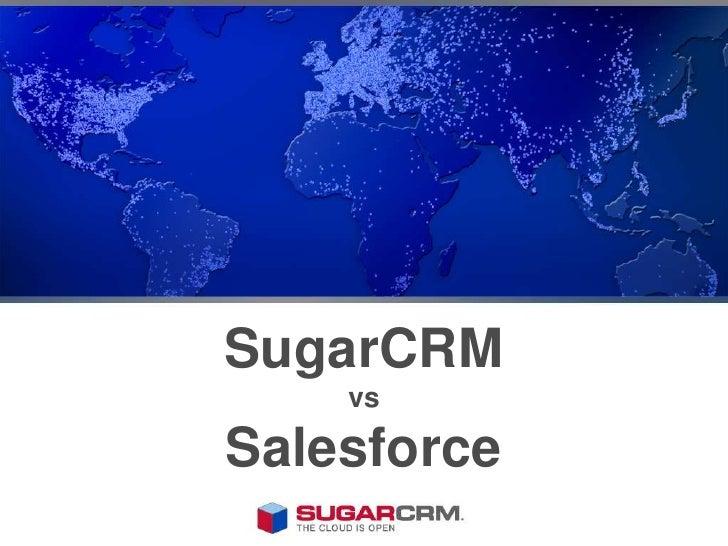 SugarCRM vsSalesforce<br />