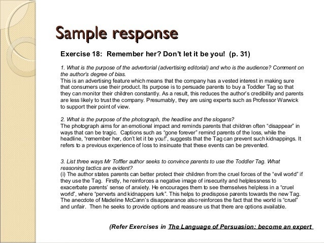 Persuasive Essay Examples For College Students