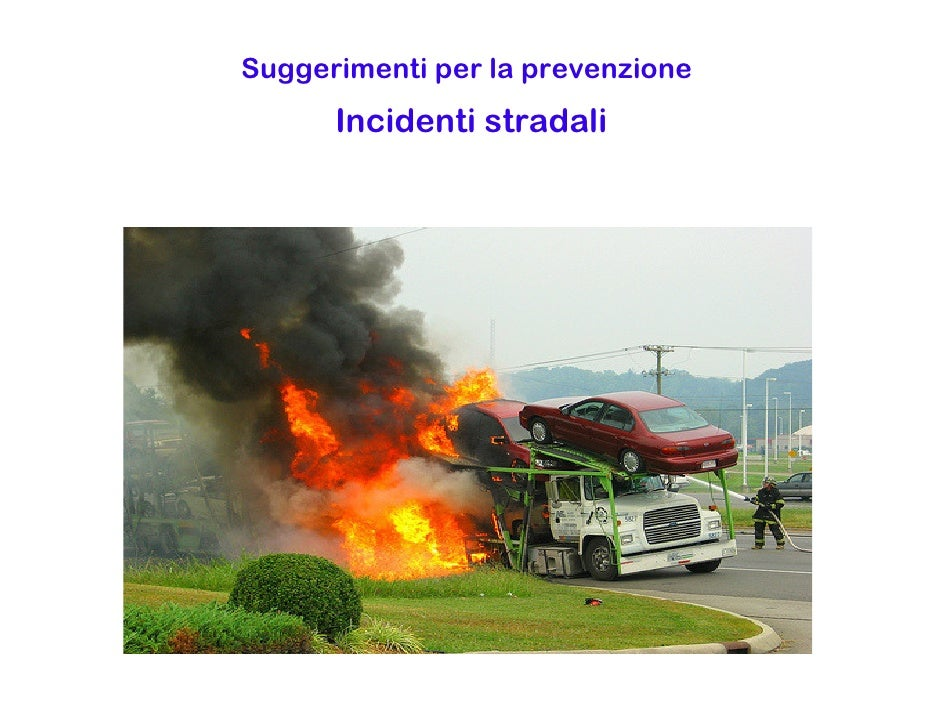 Suggestions For Road Safety Italian