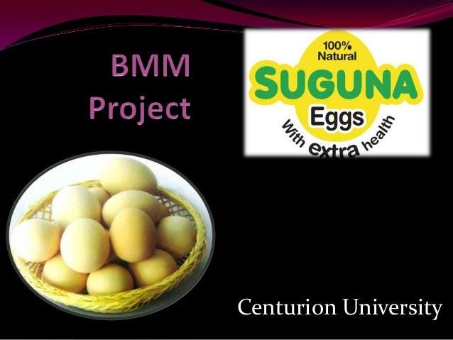 Suguna eggs a project report
