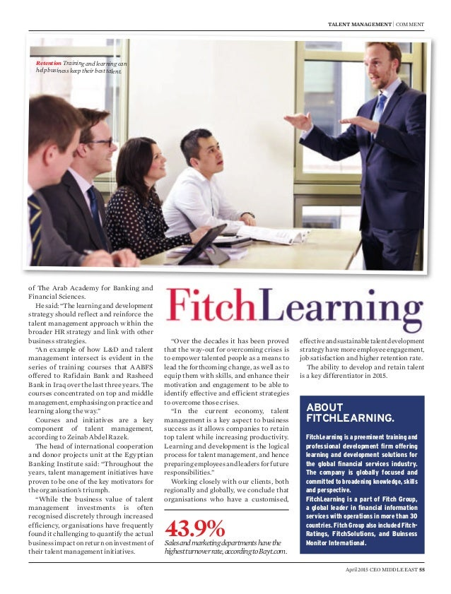 Learning article