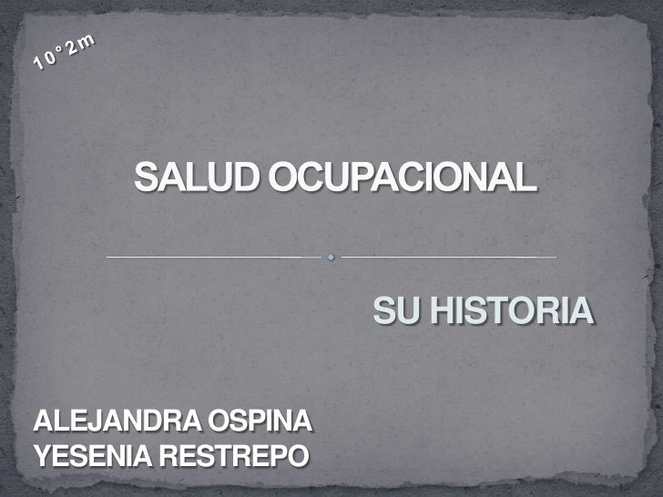 SU HISTORIAALEJANDRA OSPINAYESENIA RESTREPO