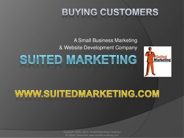 Suited Marketing - Buying Customers - Desktop