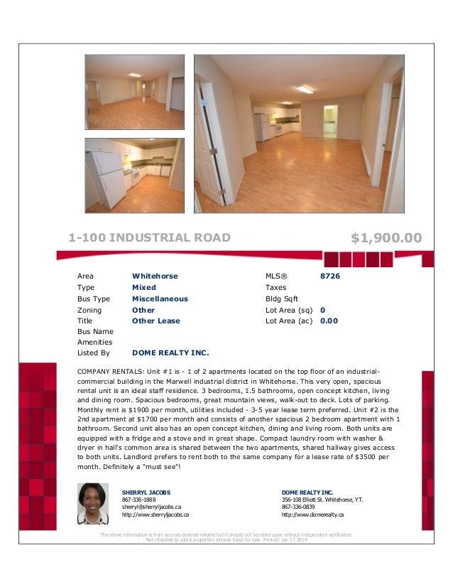 Suite rentals   company apartments mls 8726 & 8727