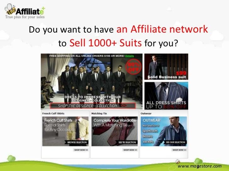 Suits4menonline.com  affiliate plus-magestore
