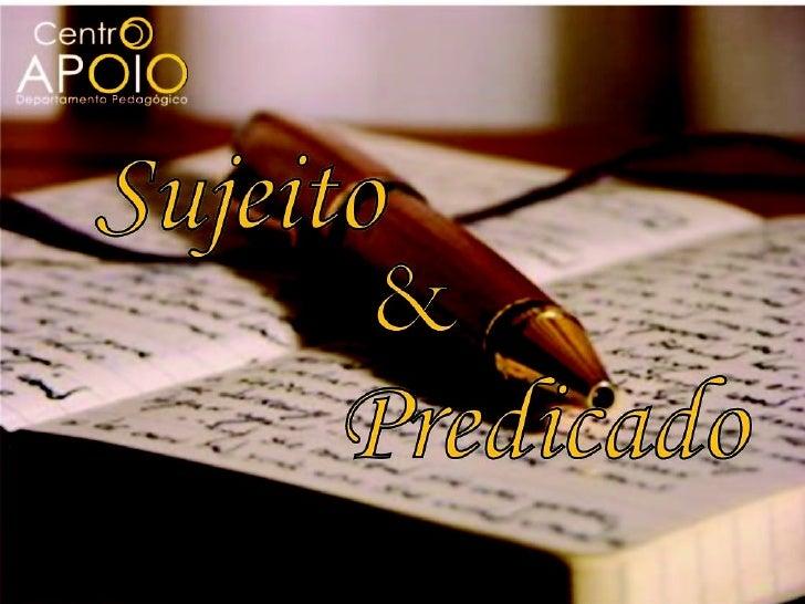 Português - Termos Essenciais da Oração - Sujeito e Predicado - CentroApoio.com - Vídeo Aulas