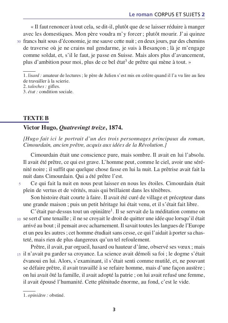 dissertation exemple franais