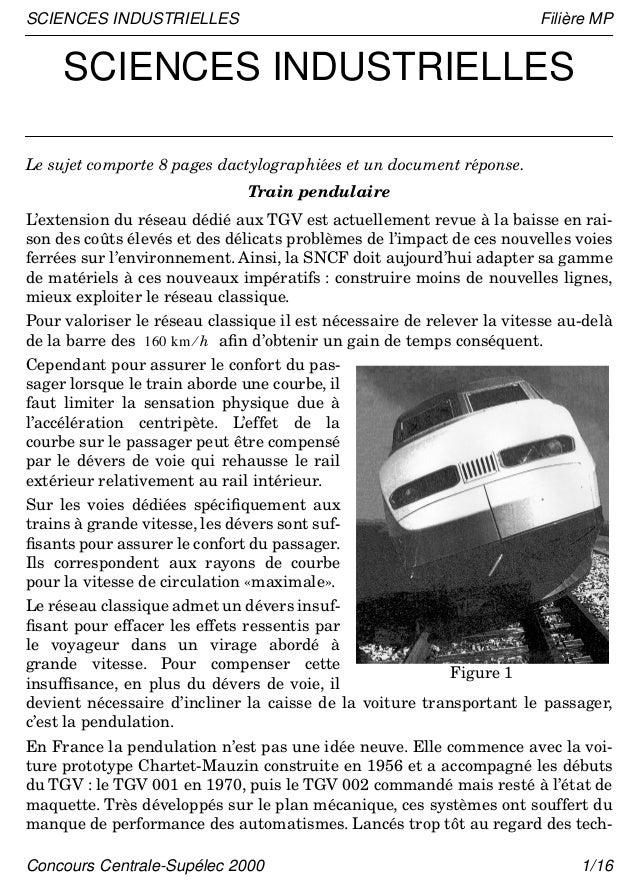 Sujet1 si-1-centrale-mp-2000
