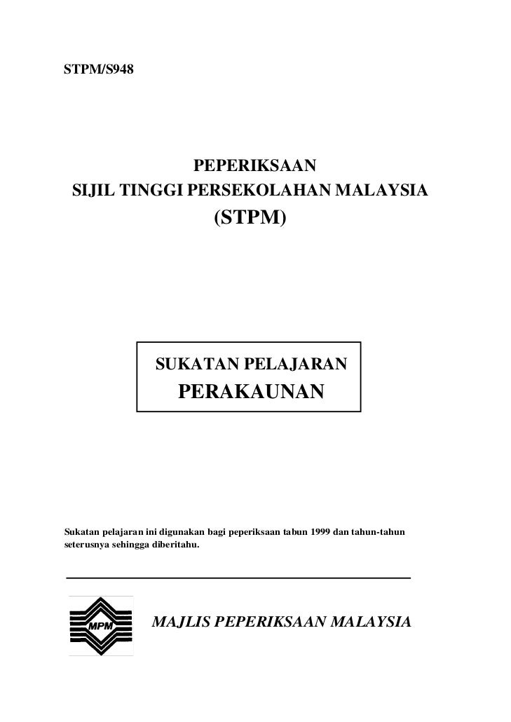STPM/S948               PEPERIKSAAN SIJIL TINGGI PERSEKOLAHAN MALAYSIA                                (STPM)              ...