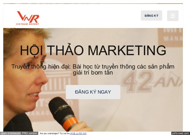 pdfcrowd.comopen in browser PRO version Are you a developer? Try out the HTML to PDF API HỘI THẢO MARKETING Truyền thông h...