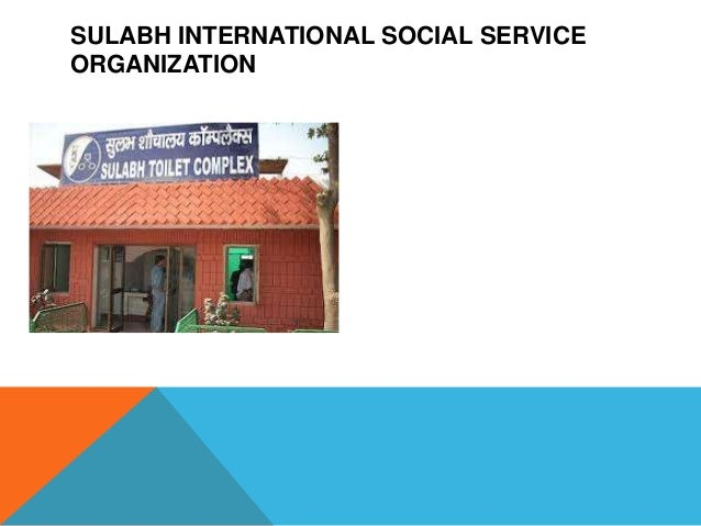 SULABH INTERNATIONAL SOCIAL SERVICEORGANIZATION
