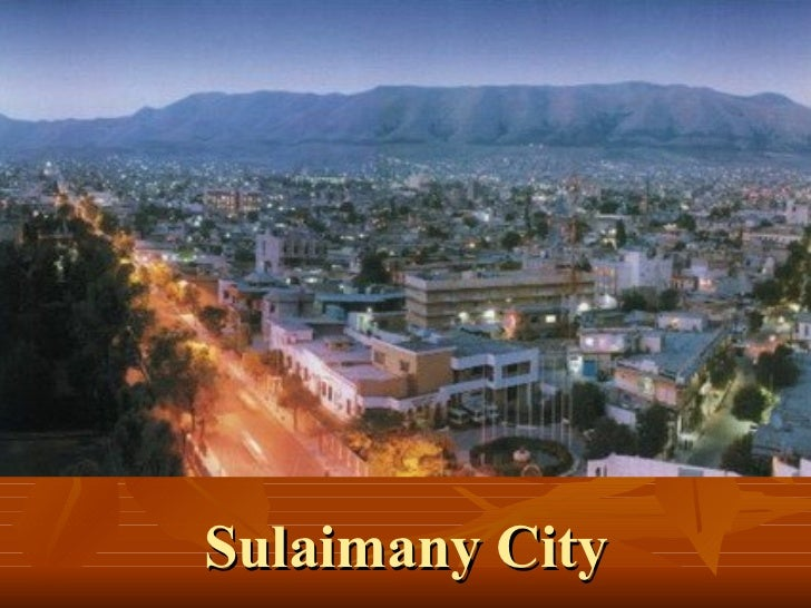 Sulaimany city