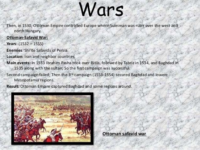 Suleiman the Magnificent important events