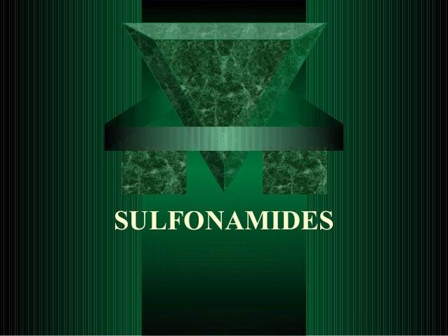 SULFONAMIDES